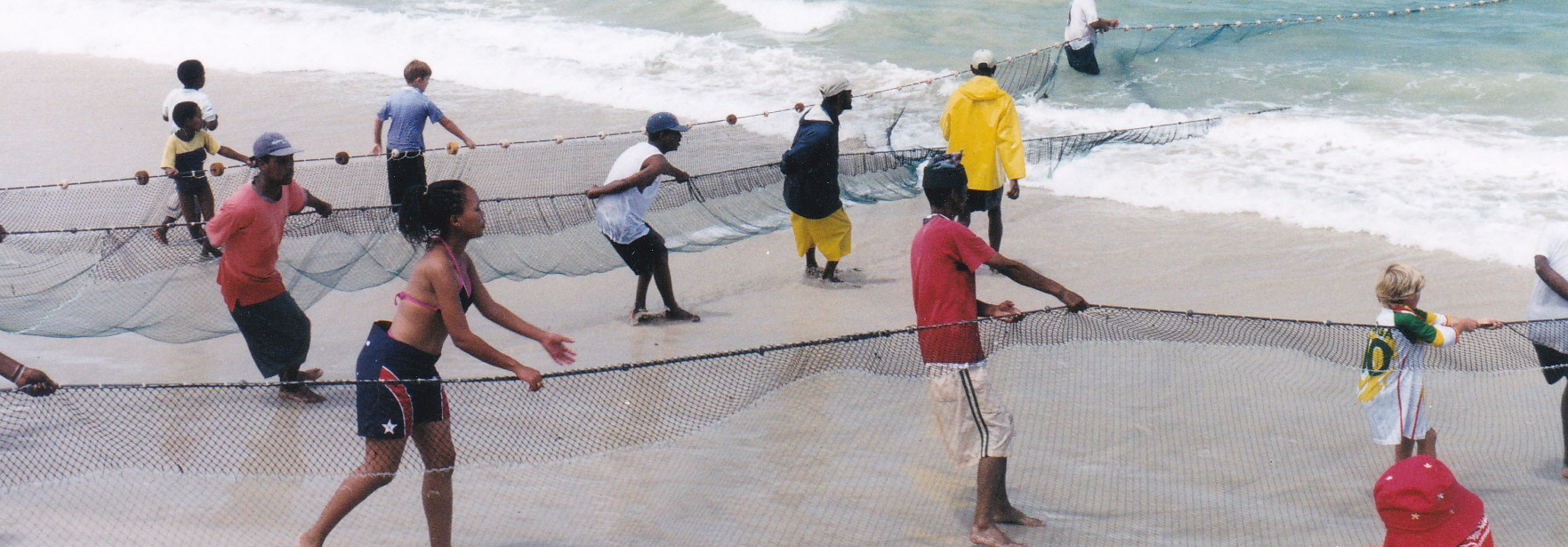 The gallant dragnet fishers in Fish Hoek – saving swimmers from shark attacks many times