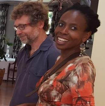 Associate Professor Elelwani Ramugondo, Occupational Medicine, UCT and Frank Kronenberg, Occupational Therapy Specialist and global lecturer and PhD candidate, UCT